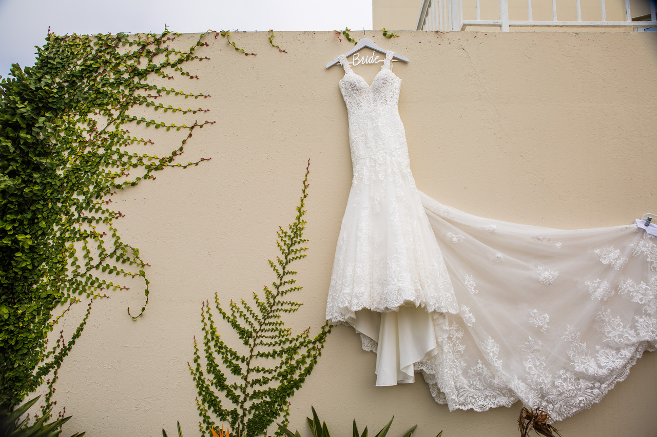 Say yes to the dress, San Diego Wedding Photographer, Berlynn Photography, San Diego Wedding Photography, bridal gown in concrete nature