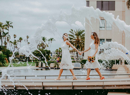 Elopement Photography- San Diego Courthouse