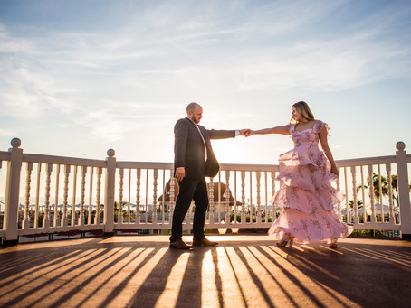 Dreamy Beach Engagement Photography at the Hotel Del in Coronado