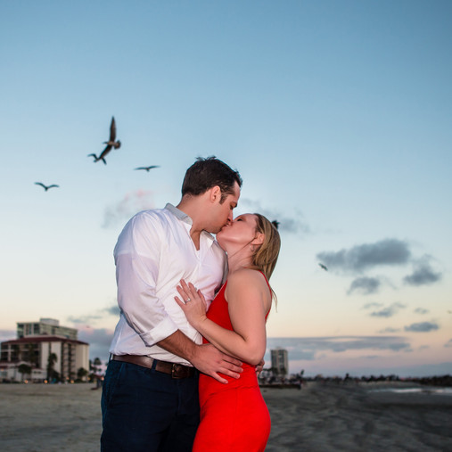 Coronado Island Engagement Photography Shoot