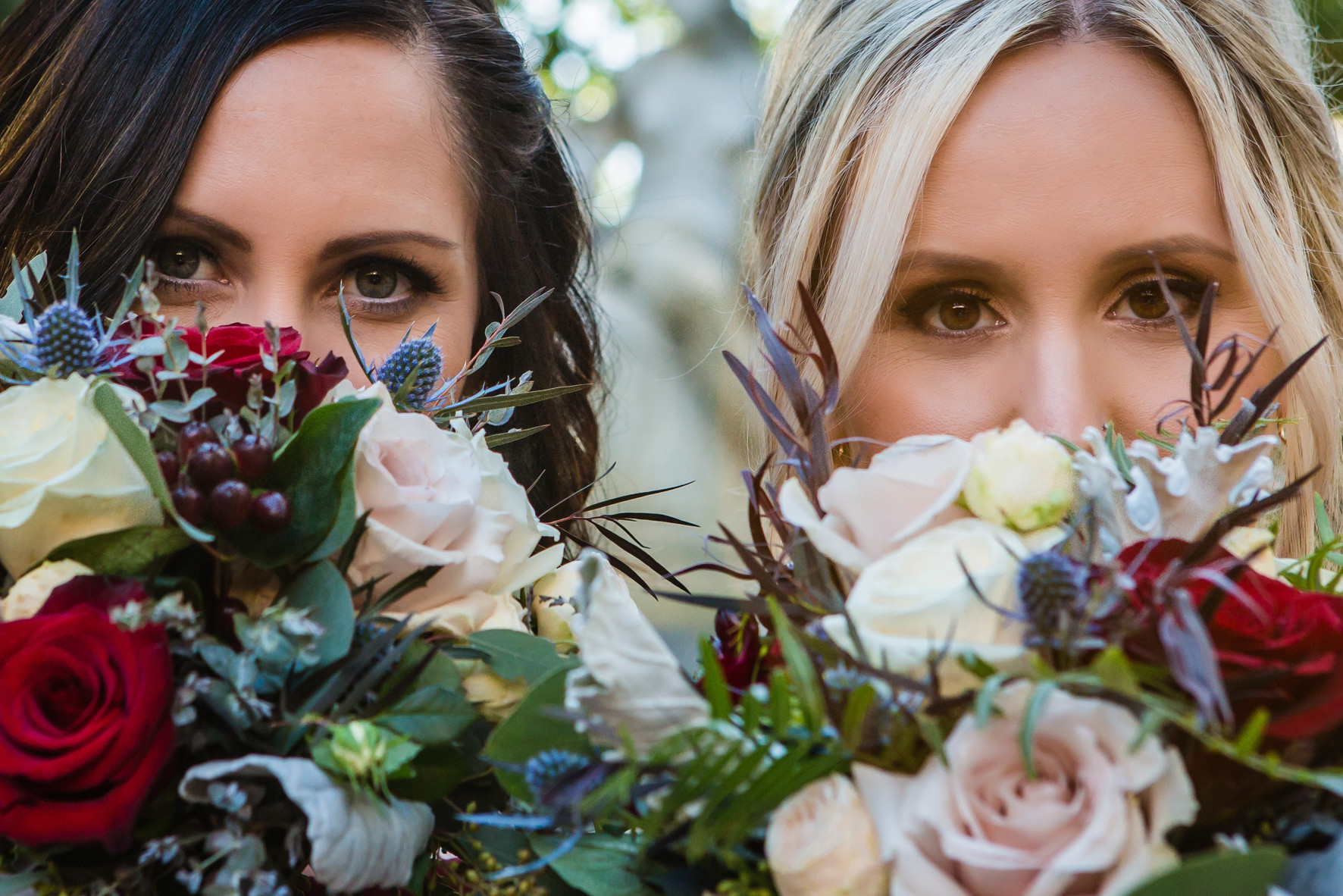 San Diego Wedding Photographer, Best of 2018 wedding photography, Berlynn Photography, San Diego Wedding Photography, bride with sister portrait