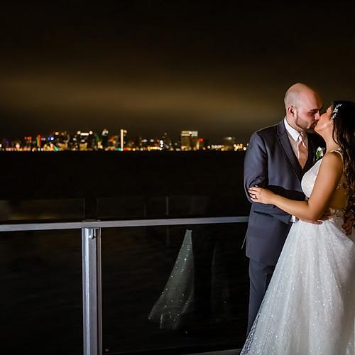 Tom Hams Lighthouse Wedding + Hilton bayfront