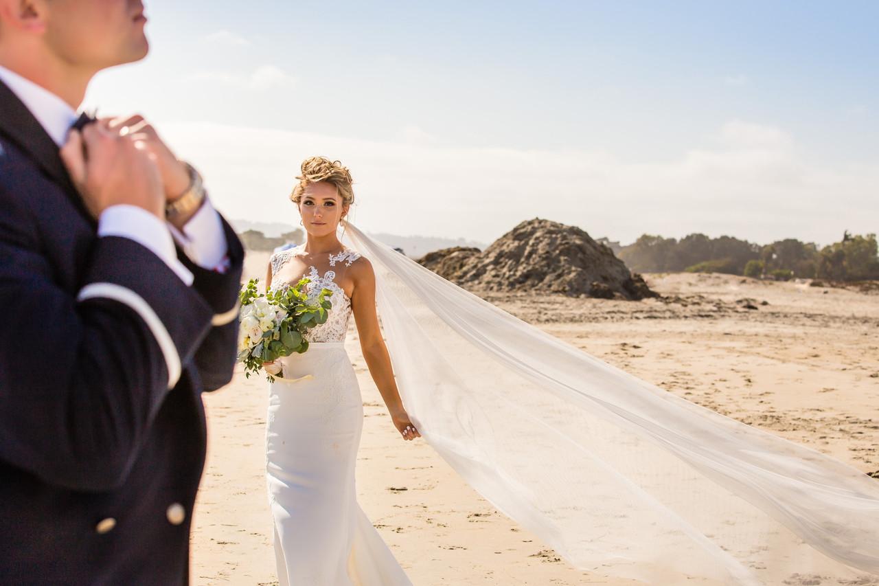 San Diego Wedding Photographer, Berlynn Photography, San Diego Wedding Photography, Bride beach portrait