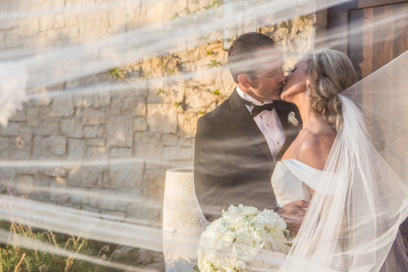 Berlynn Photography, San Diego Wedding Photography, Bride and Groom kiss