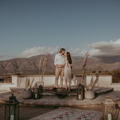 The Astin Retreat| DeLorean Ranch| San Diego Elopement Photography