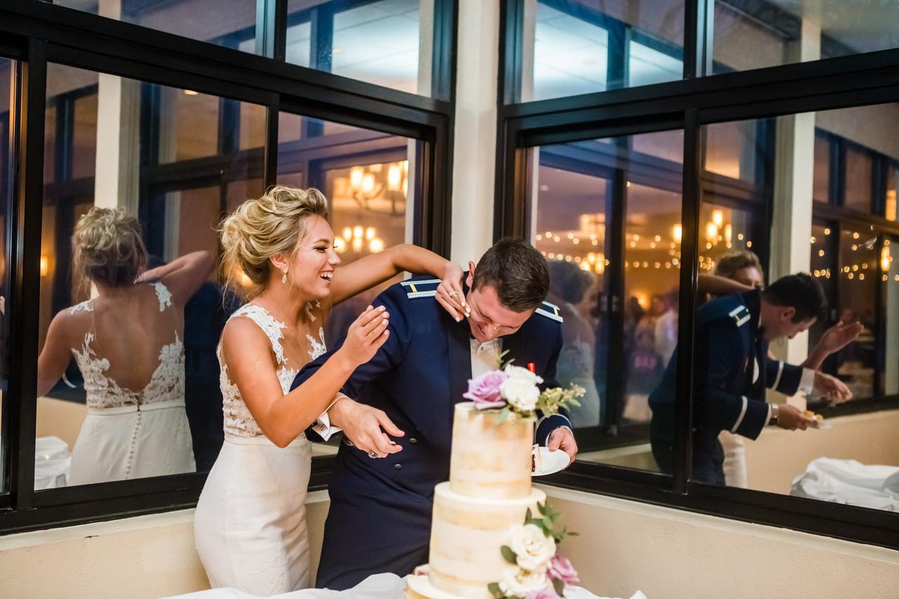 San Diego Wedding Photographer, Berlynn Photography, San Diego Wedding Photography, bride and groom cake fight