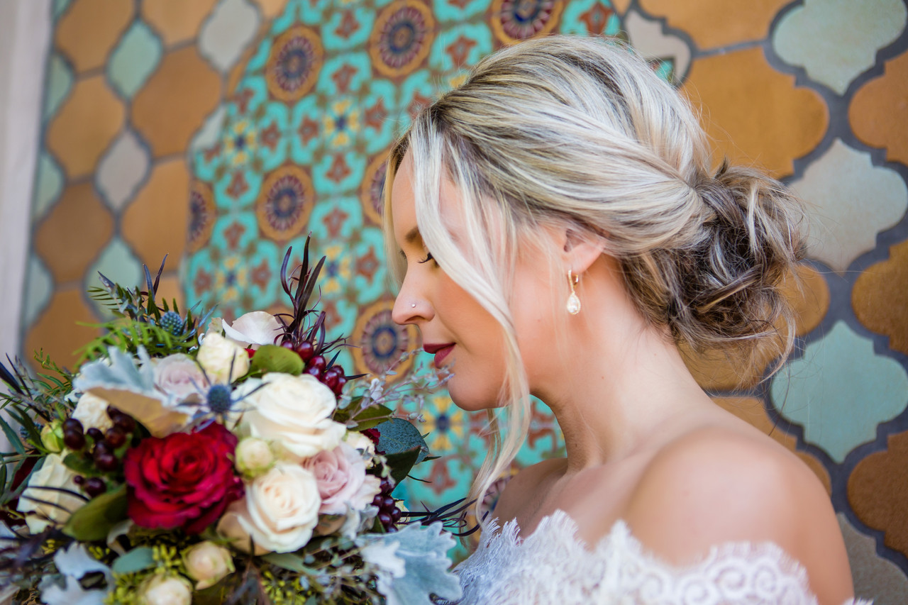 San Diego Wedding Photographer, Best of 2018 wedding photography, Berlynn Photography, San Diego Wedding Photography, Bride and flower close up