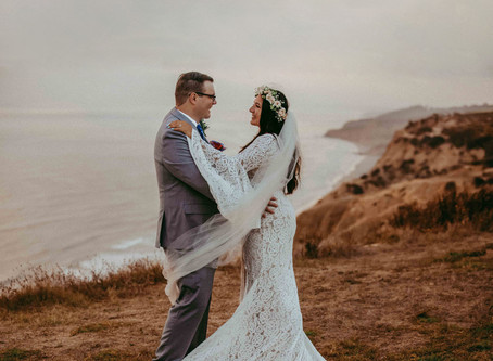 San Diego Elopement Photography | La Jolla Glider Port Cliffside Wedding | Melissa & Kaylo