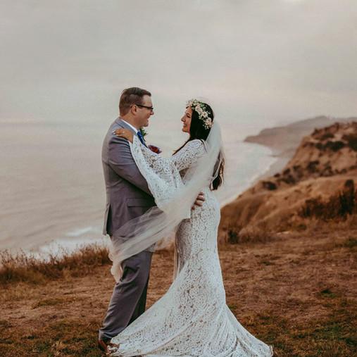 San Diego Elopement Photography | La Jolla Glider Port Cliffside Wedding | Melissa & Kaylo