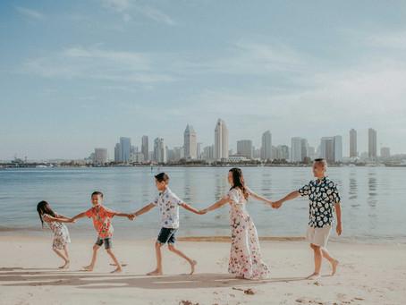 San Diego Family Lifestyle Photography| Coronado Centennial Park| Bach Family