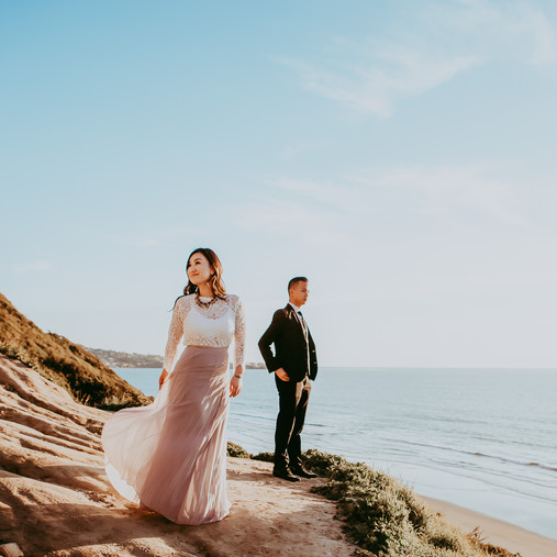 Adventure Session Engagement in La Jolla | Engagement Photography in San Diego, CA