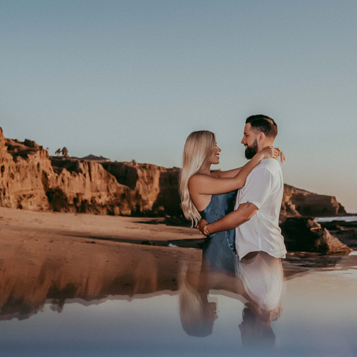 Ocean Beach Sunset Cliffs | Lilia & Ulysses | San Diego Engagement Photography