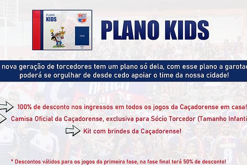 Sócio Torcedor - Plano Kids