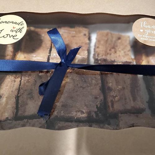 Peanut Butter Brownies (12 Servings)