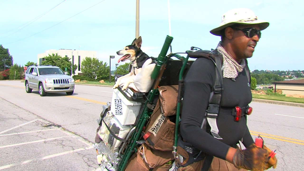 Walking 600 Miles for Veterans