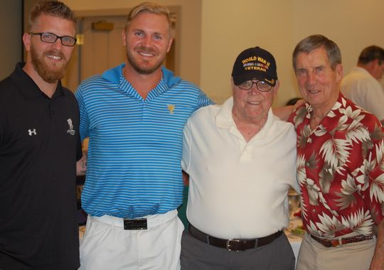 Golf outing putts big for wounded wa