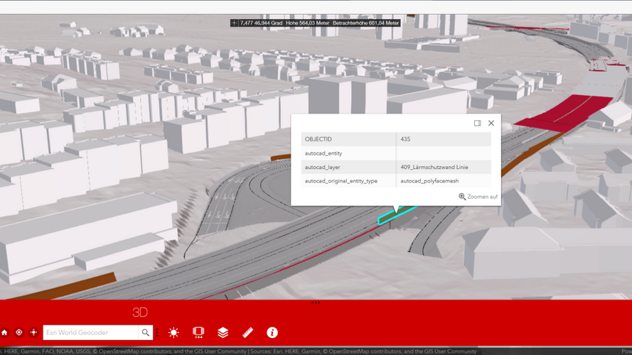 Smartes 3D-Modell im Online-Viewer