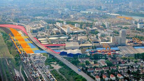 Hafen-Stadt Hafenbecken 3