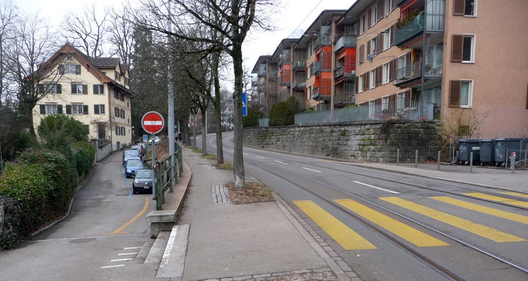 Ist-Zustand Limmattal- Hönggerstrasse, Zürich
