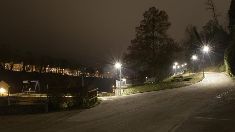 Nachtaufnahme Schrägerweg