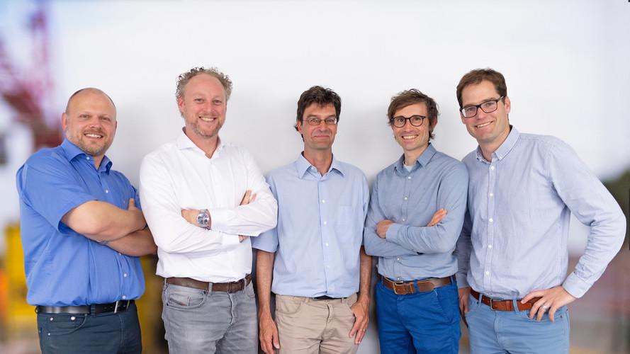 Andreas Stoiber, Ulrich Hermann, Reto Gasser, Lukas Brassel, Raphael Marty