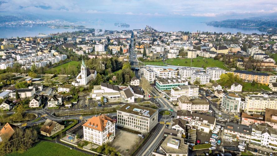 Übersicht Stadt Rapperswil