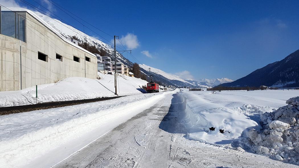 Bauen im Engadin (Baustart im Winter)