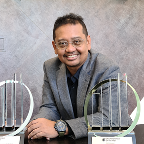 Founder and CEO of Aerodyne Group  is EY Entrepreneur Of The Year 2020 Malaysia