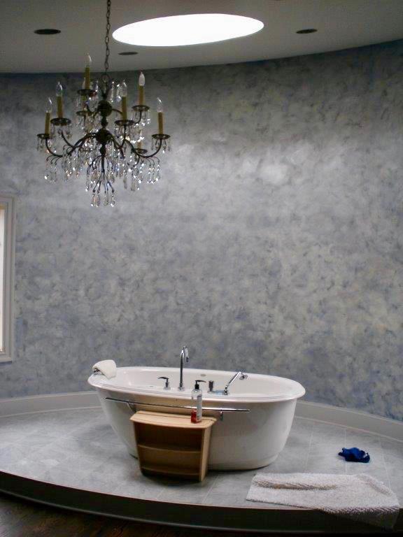 Silver Venetian Plaster