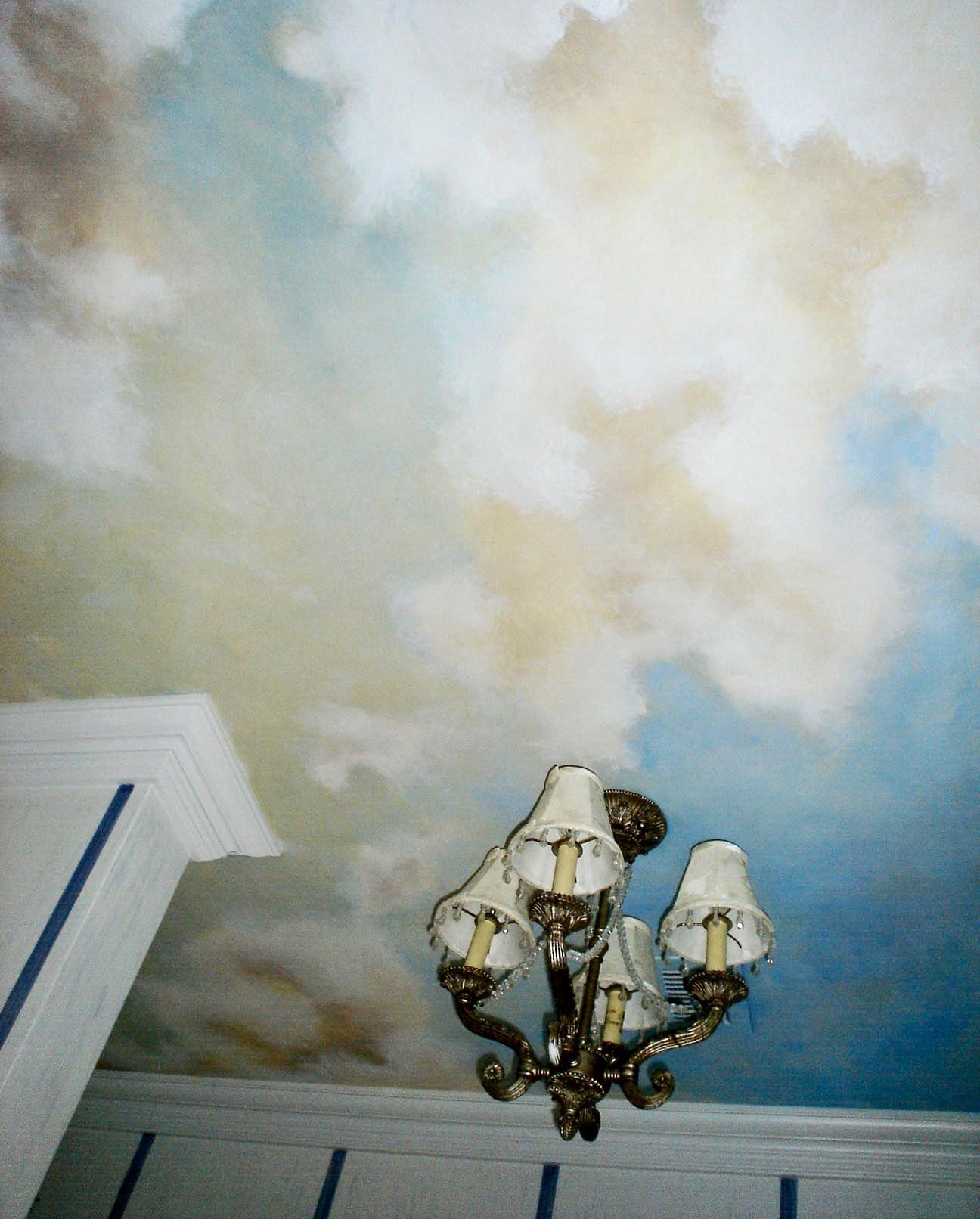 Painted Cloud Ceiling