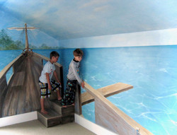 Walk The Plank Mural