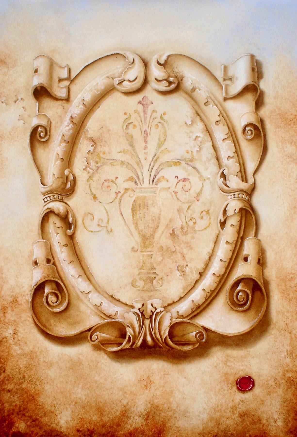 Trompe L'oeil Carving