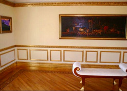 Gilded Trim for Gallery Room
