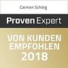 Carmen Schörg Heilmasseurin - Top Dienstsleister 2017 Proven Expert