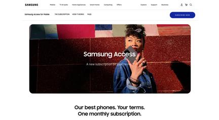Sumsung Galaxy S20 ad
