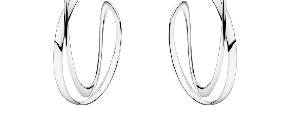 Infinity Hoop Earrings Large