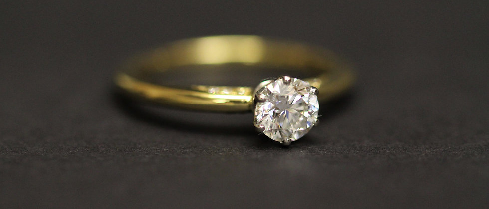 18ct Yellow Gold Diamond