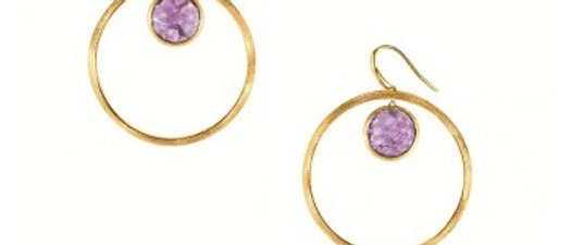 Jaipur Amethyst Earrings