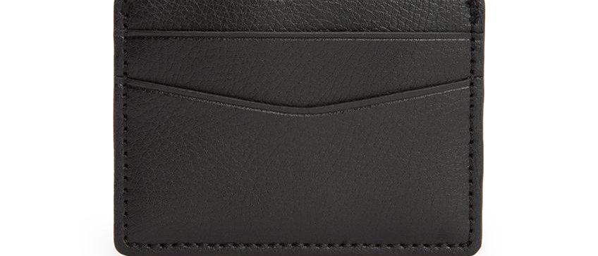 Blake Card Wallet Black
