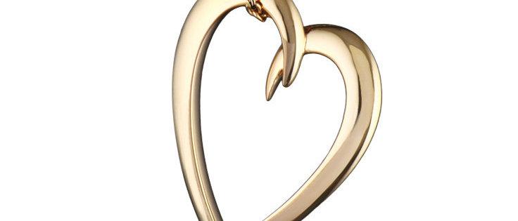 Yellow Gold Vermeil Signature Heart Pendant