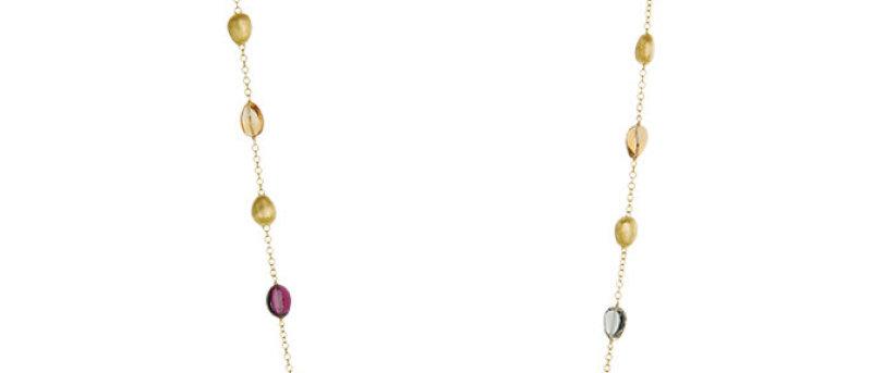 Confetti Gemstone Necklace