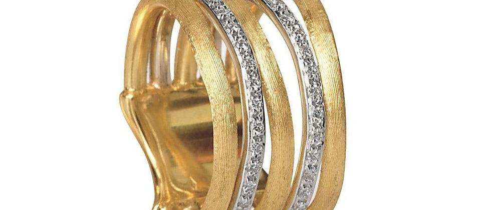 Jaipur Links Diamond 5-Row Ring