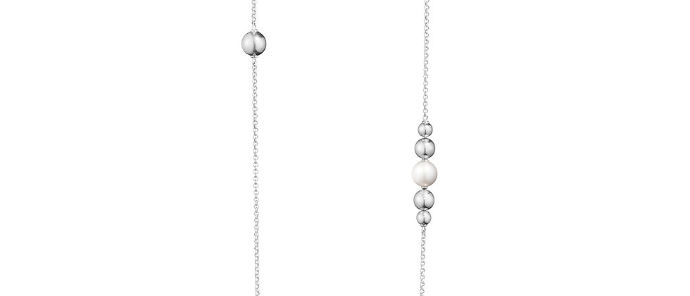 Moonlight Grapes Sautoir Pearl Necklace
