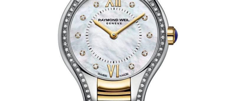 Ladies Raymond Weil Noemia Diamond Bezel