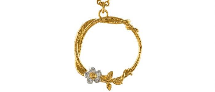 Baby Posy Loop Necklace
