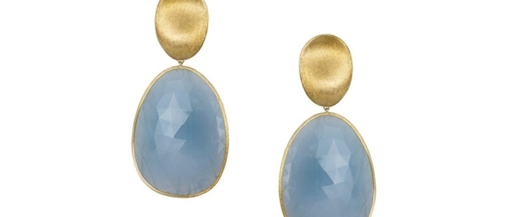 Lunaria Aquamarine Earrings