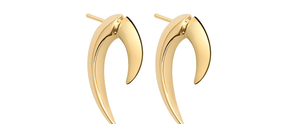 Yellow Gold Vermeil Talon Earrings