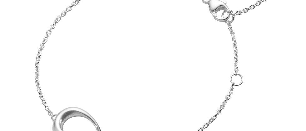 Offspring Bracelet Silver & Red Gold