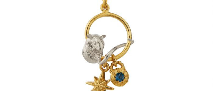 Stowaway Mouse Charm Necklace