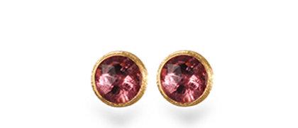 Jaipur Pink Tourmaline Stud Earrings